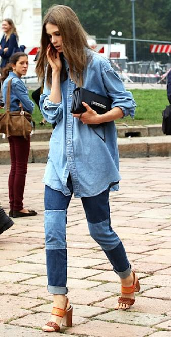comment porter le jean 12