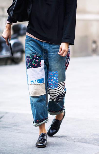 comment porter le jean