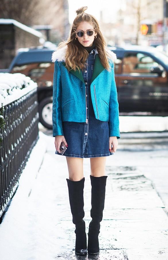les plus belles robes en jean