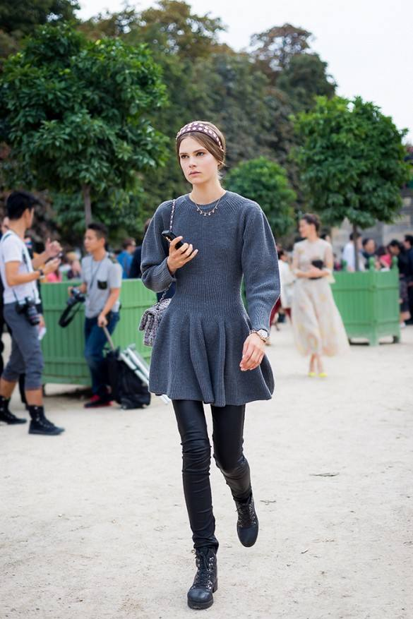 comment porter la robe pull ? 9