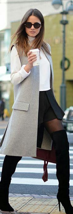 Comment porter la veste longue 8
