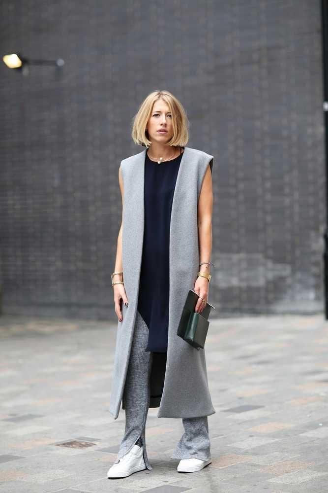 Comment porter la veste longue 10
