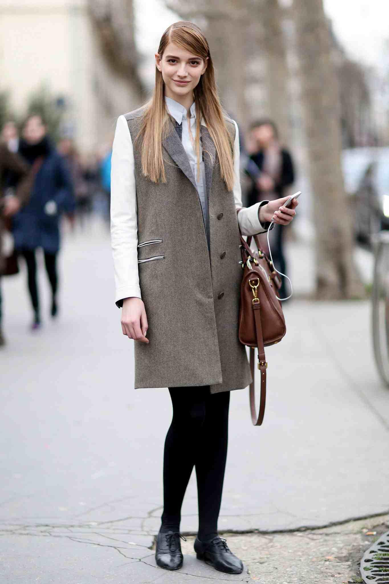 Comment porter la veste longue