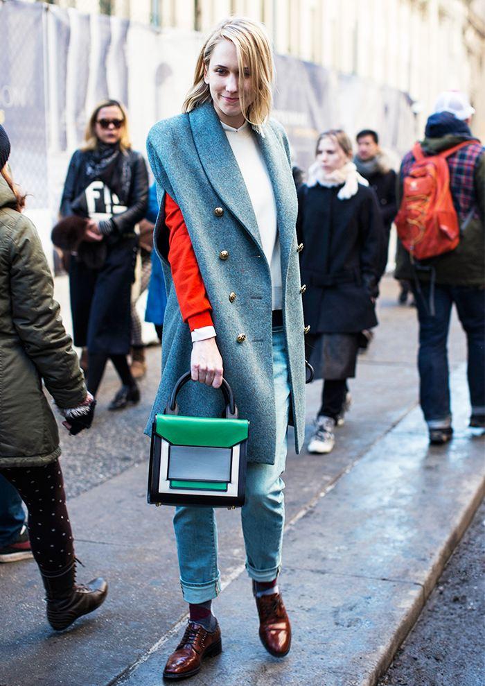 Comment porter la veste longue 1