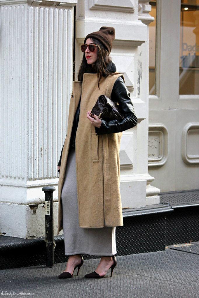 Comment porter la veste longue 4