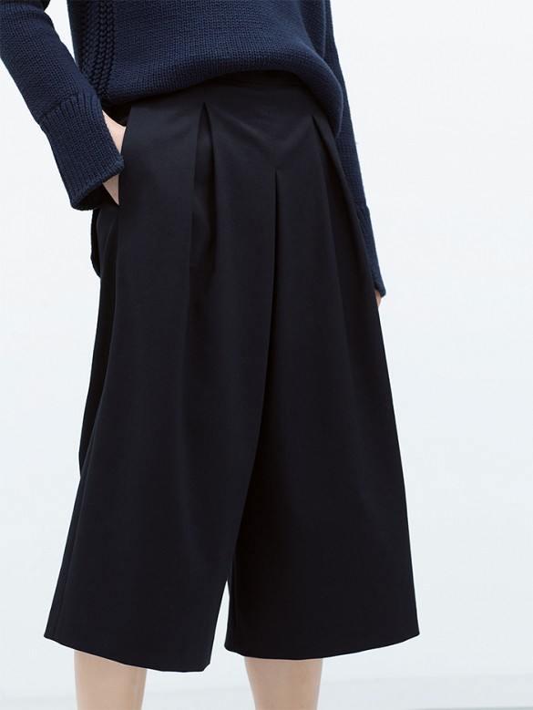 Zara - Jupe-culotte(60 €)