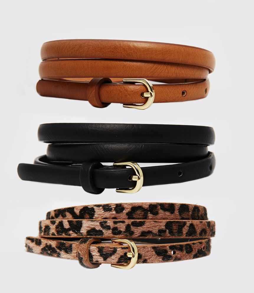 Asos - Lot de 3 ceintures(14 €)