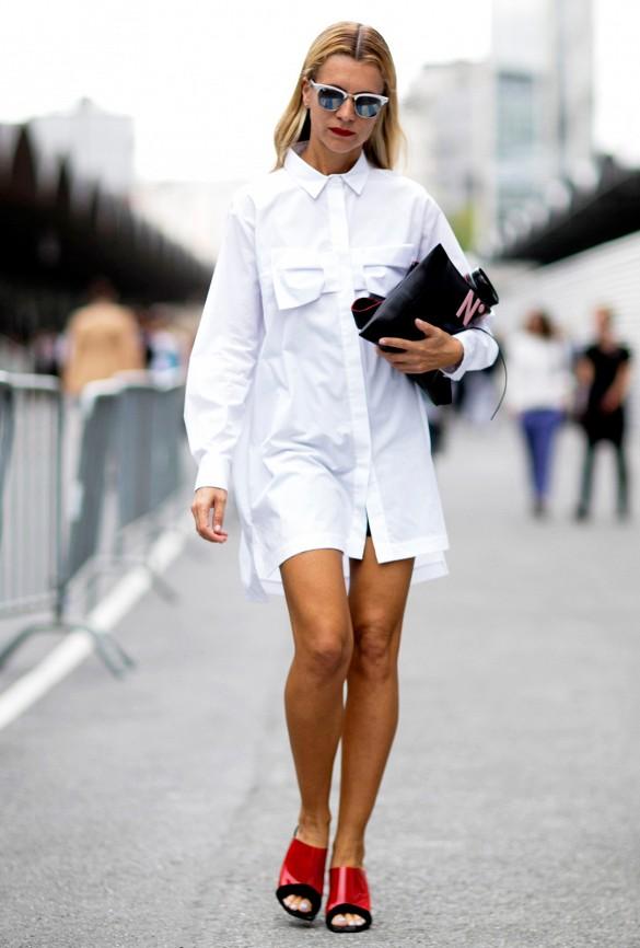 Chaque femme a besoin d\'une robe chemise comme élément de base de sa garde robe. Elles ne sont jamais démodées et leur structure flatte tous les types de corps.