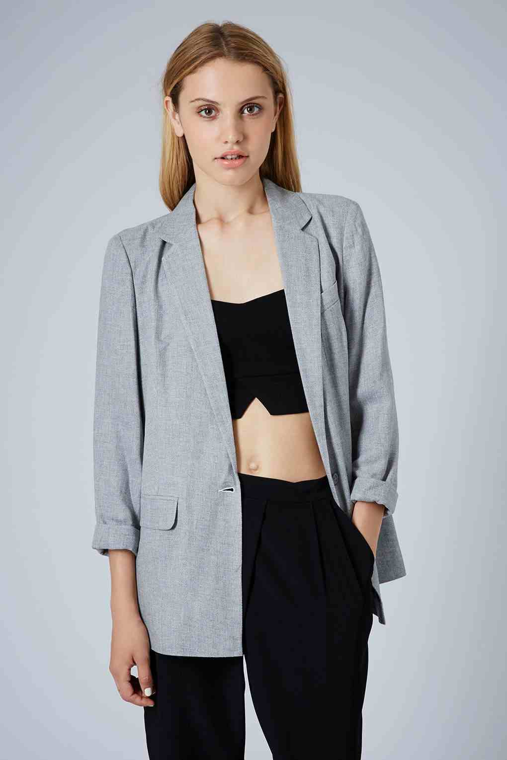 Topshop - Blazer long (76 €)