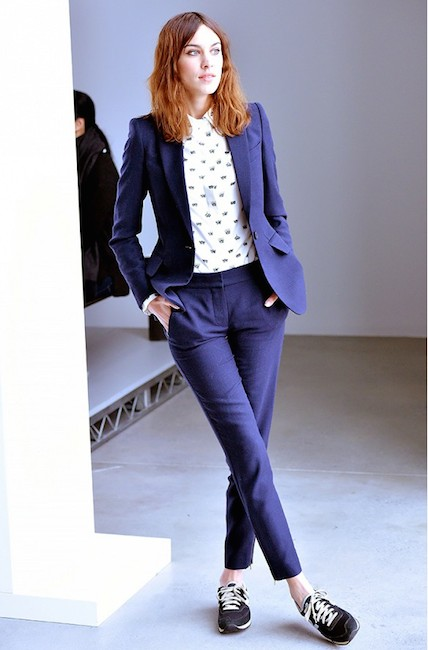 Alexa Chung suit