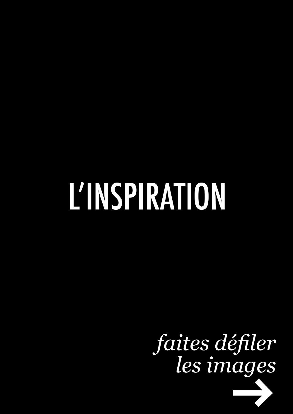 L\'inspiration