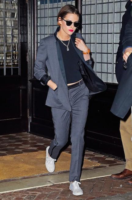 Kristen Stewart suit