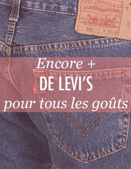Encore + de jeans Levi\'s