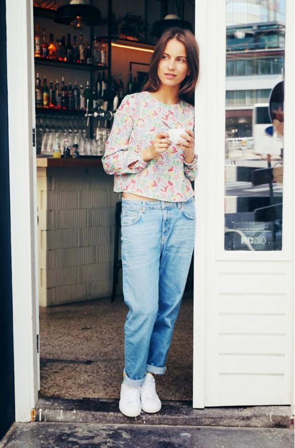Sur la photo : Lizzy Van Der Ligt du blog portant son nom