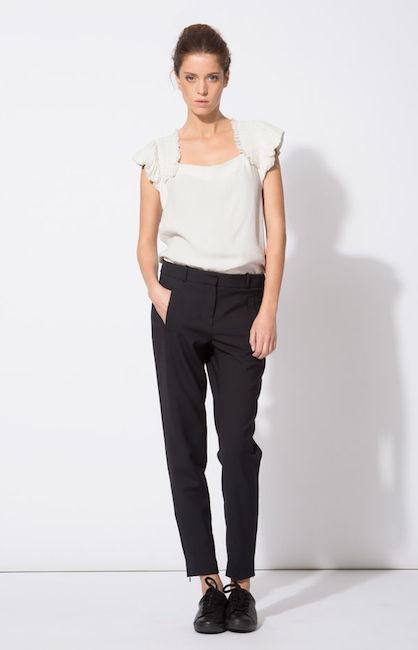 Maje - Pantalon de tailleur (175 €)