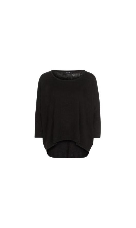 Vila - Pull noir (35 €)
