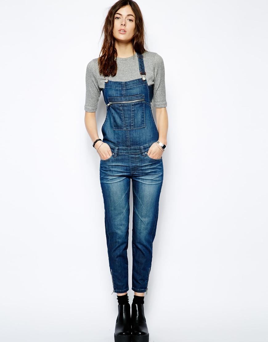Blank NYC- Salopette en jean (98€)