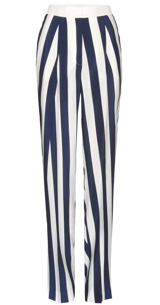 Stella McCartney - Pantalon large à rayures (332 €)