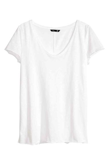 H&M - Top en jersey (9,95 €)