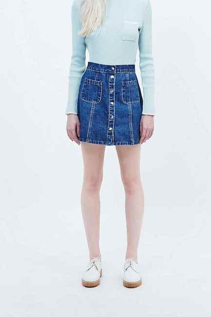 Urban Outfitters - Jupe en jean (52 €)