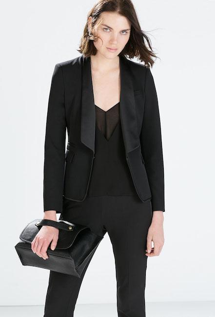 Zara - Veste de smoking (79,95 €)