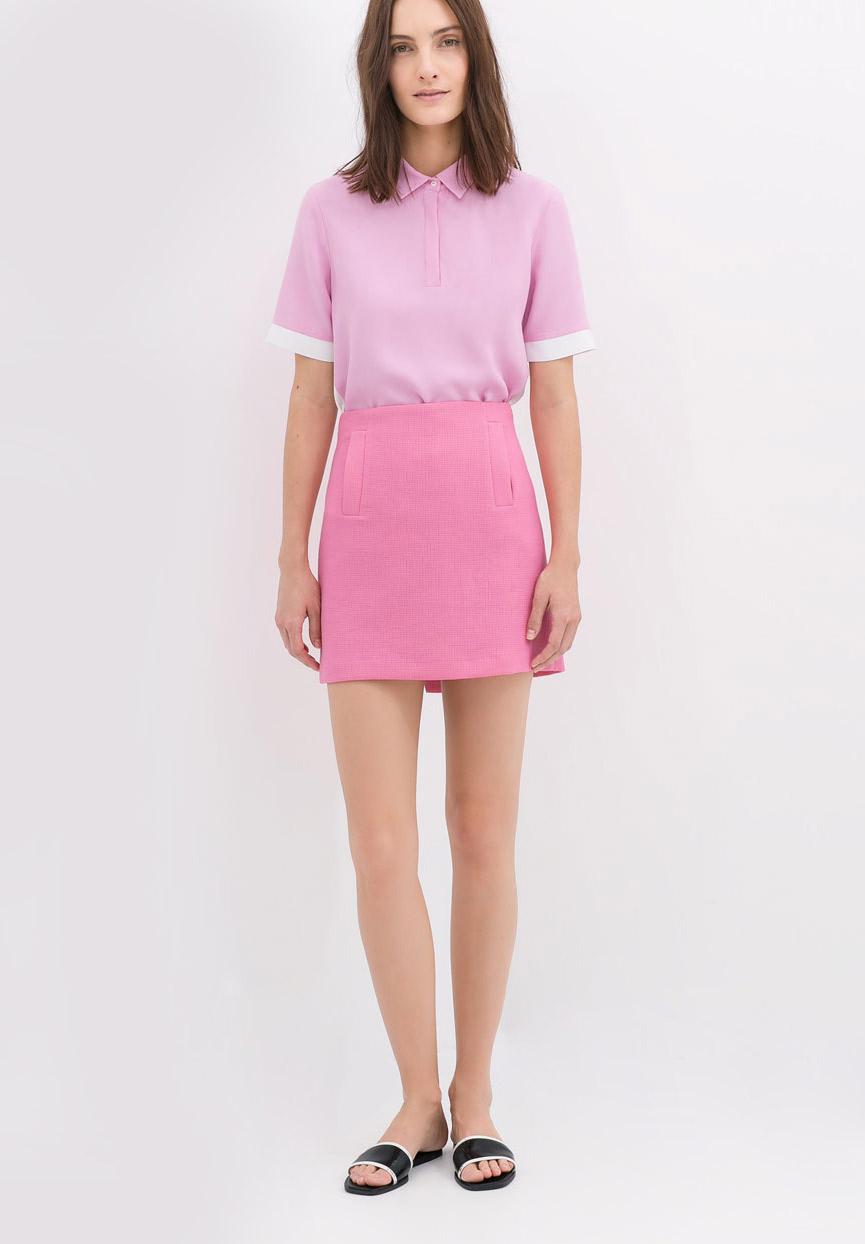Zara - Mini jupe (39,95 €)