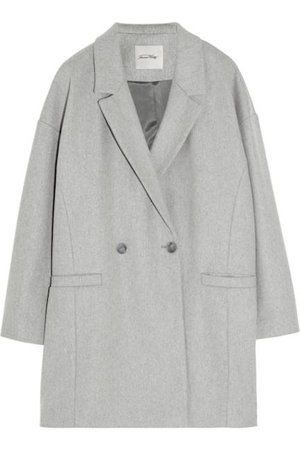 American Vintage - Manteau en laine (250 €)