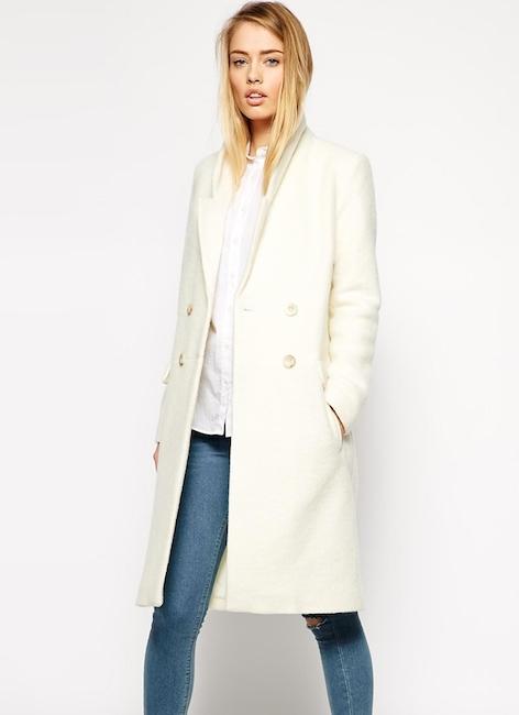 Asos - Manteau en laine (135 €)