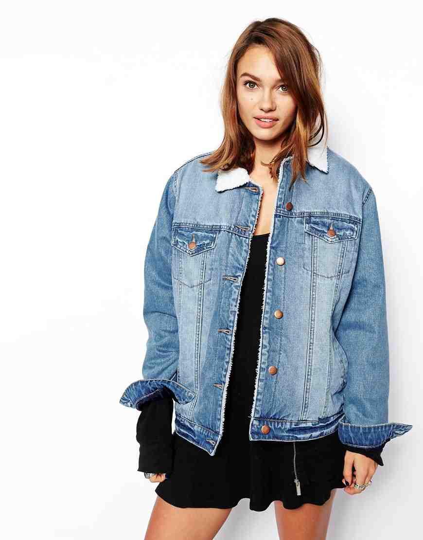 Asos - Veste en jean(79 €)