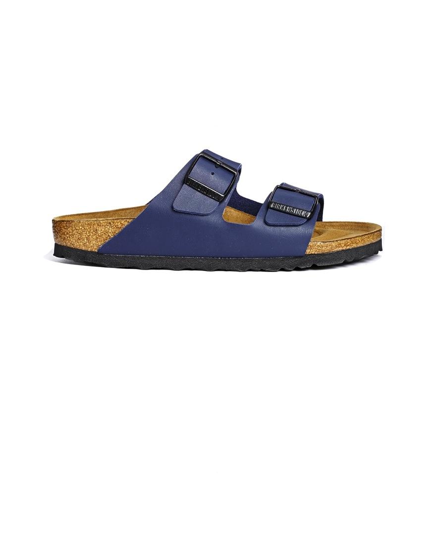 Birkenstock - Sandales \'Arizona\' bleues (70 €)
