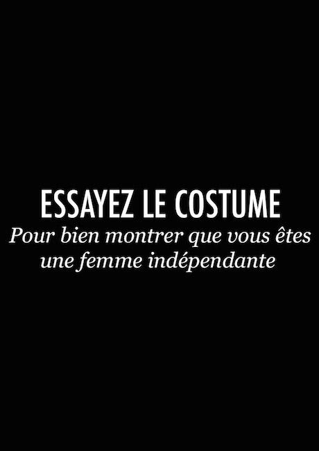 ESSAYEZ LE COSTUME