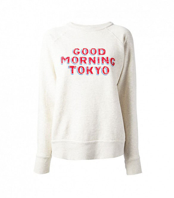 Isabel Marant Étoile - Sweat \'Good morning Tokyo\' (119 €)