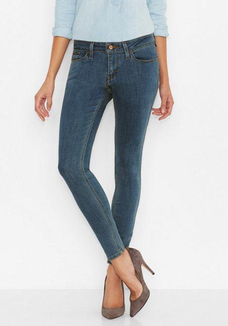 Levi\'s - Jean 535 legging (85 €)