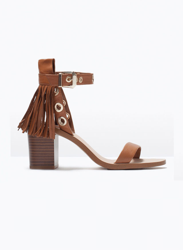 Zara - Sandales (50€ au lieu de 70€)