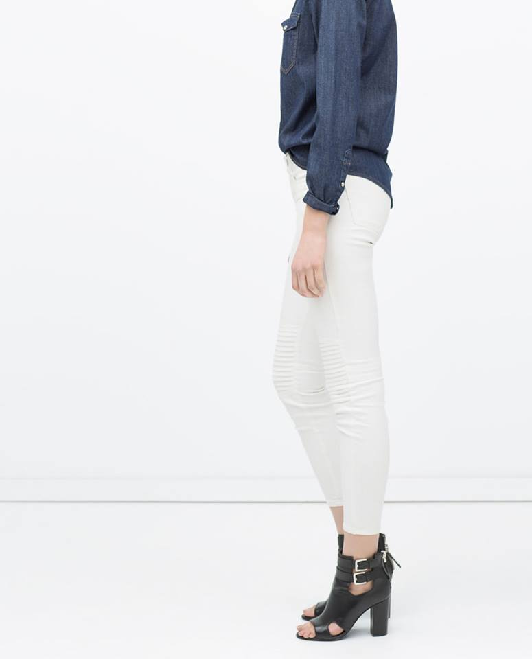 Zara-Pantalon 7/8 (30€ au lieu de 50€)