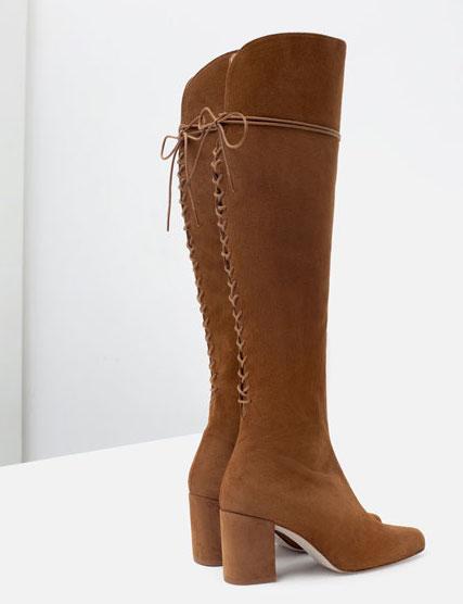 Zara - bottes (90€)