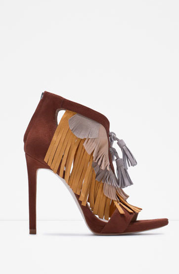 Zara - sandales (70€)