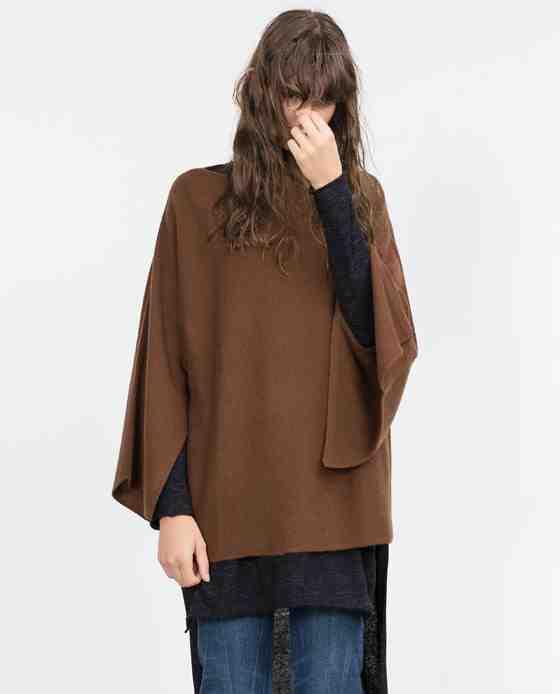 Zara - poncho (139€)