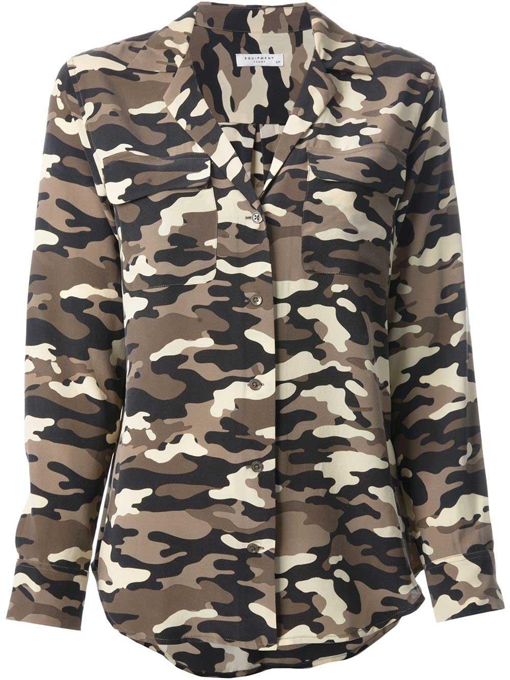 Equipment - Chemise imprimée camouflage (369 €)