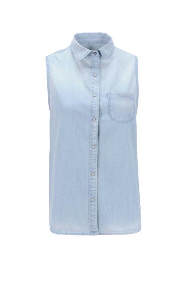 Pepe Jeans - Chemise en jean sans manche (38,40 €)