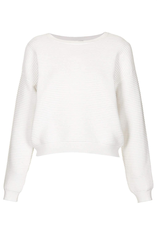 Topshop - Pull en tricot texturé côtelé (50 €)