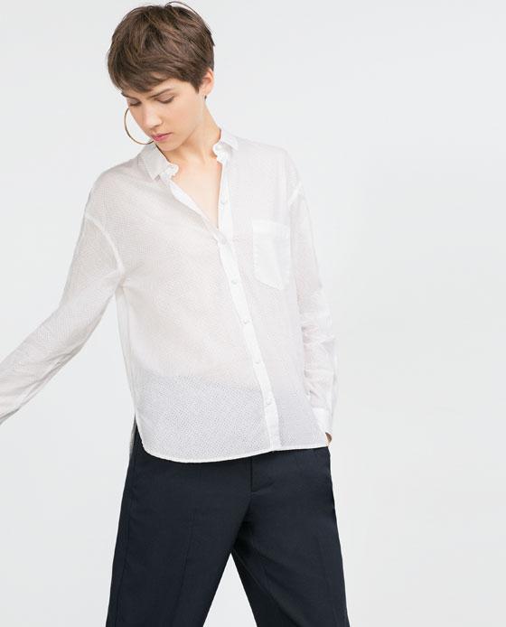 Zara - chemise (30€)