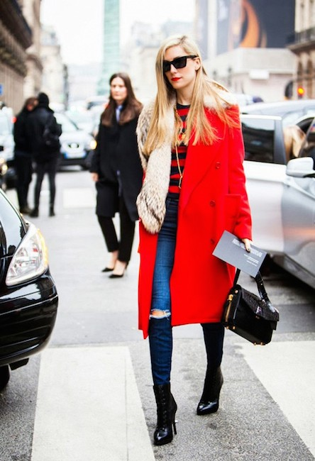 red street style seconds