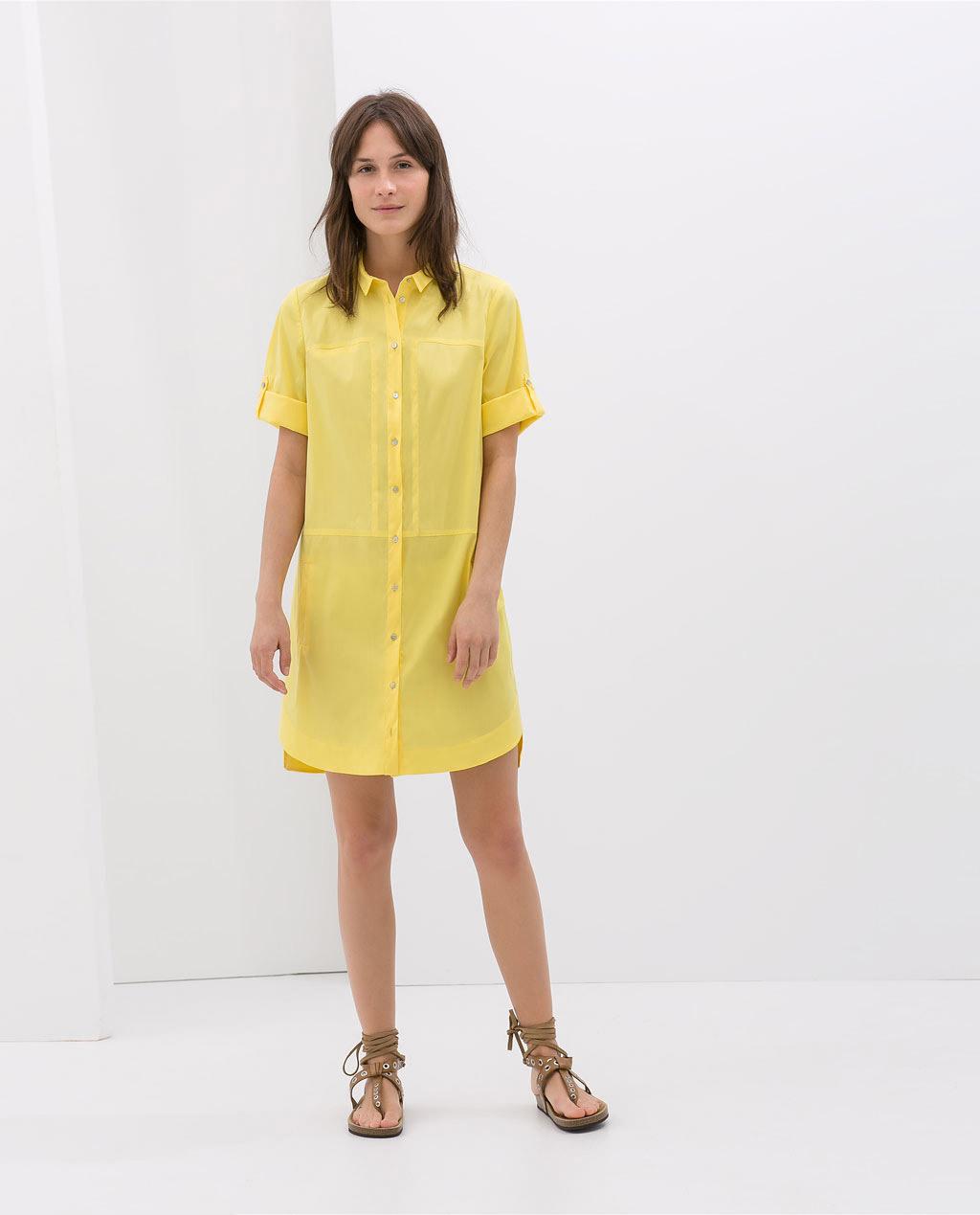 Zara - Robe chemise (29,99 €)