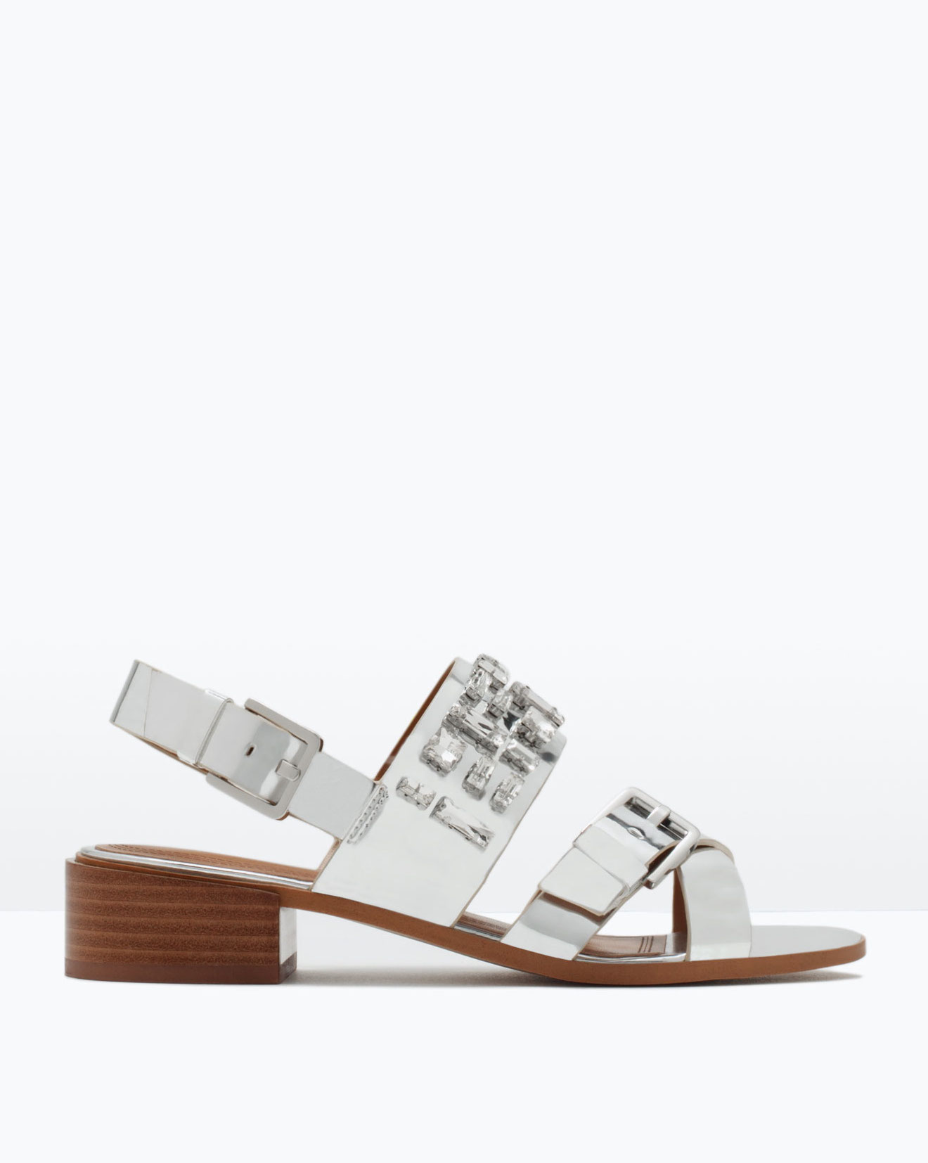 Zara - sandales (40€ au lieu de 60€)