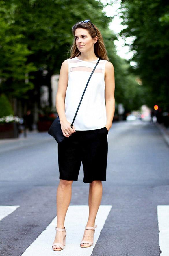 Nous vous recommandons de porter des talons pour allonger votre silhouette. Crédit photo : le blog de \'Clochet\'