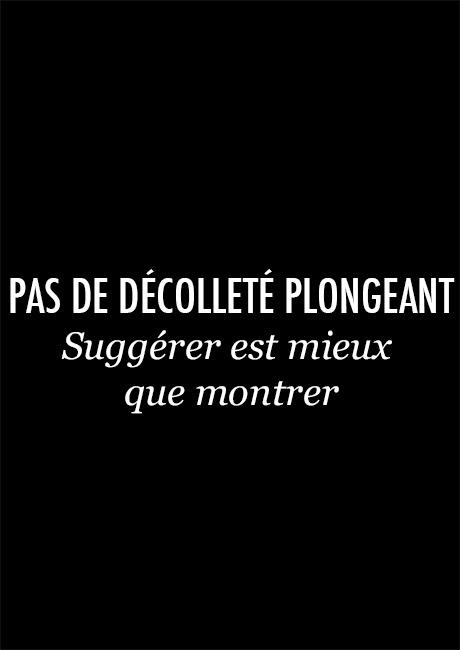PAS DE DÉCOLLETÉ PLONGEANT