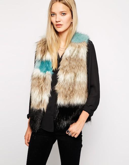 Unreal Fur - Gilet sans manches (200 €)