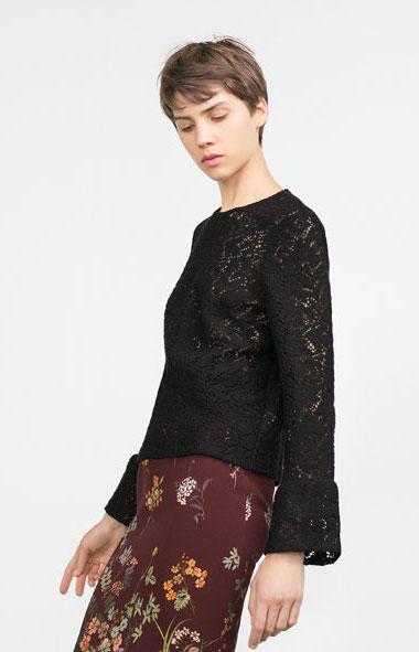 Zara - top (40€)