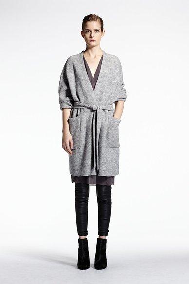 Set - veste longue (250€)